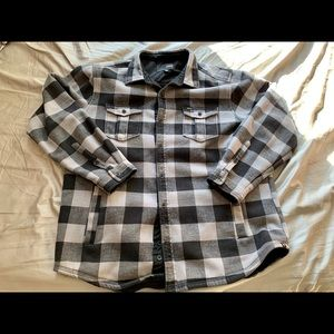 Hurley Long Sleeve Flannel Jacket / Coat Size XL